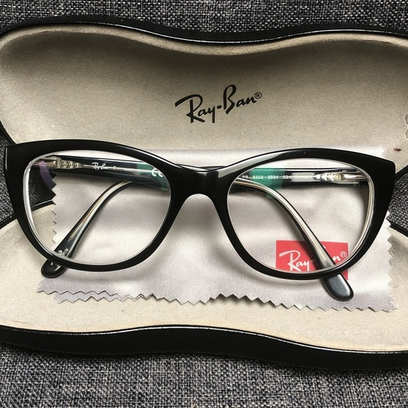 ray ban cat eye eyeglass frames